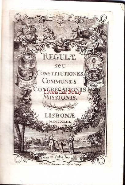 REGULAE / SEU / CONSTITUTIONES / COMMUNES / CONGREGATIONIS / MISSIONIS