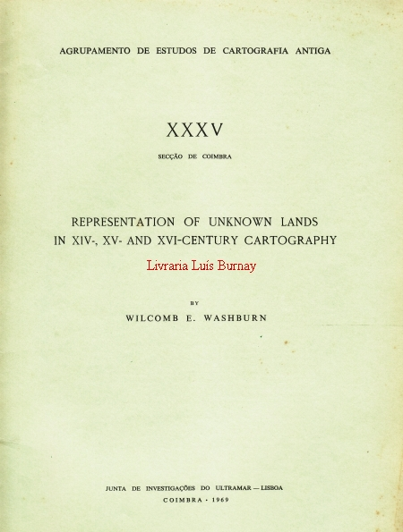 Representation of unknown lands in XIV-, XV- and XVI-century cartography.-